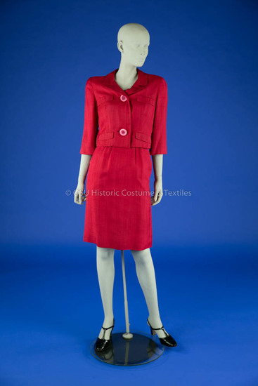 1960's Red Dress and Jacket