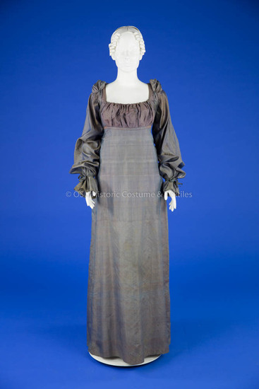 1815, Changeable Silk Dress