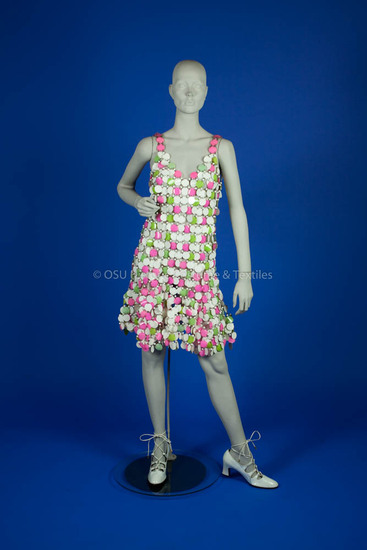 Rabanne, Paco; Plastic Disc Dress