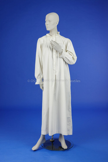 1879 Cotton Nightgown