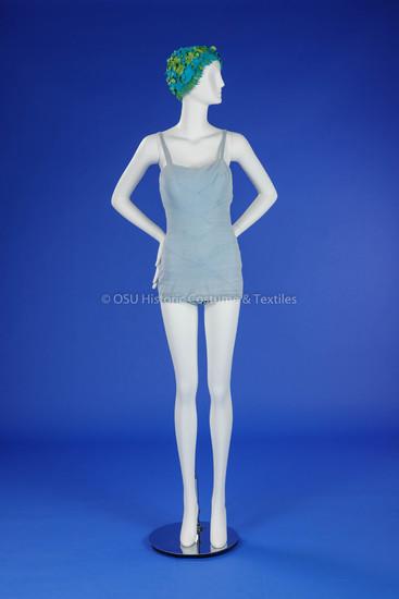 1955 Blue Rose Marie Reid Swimsuit