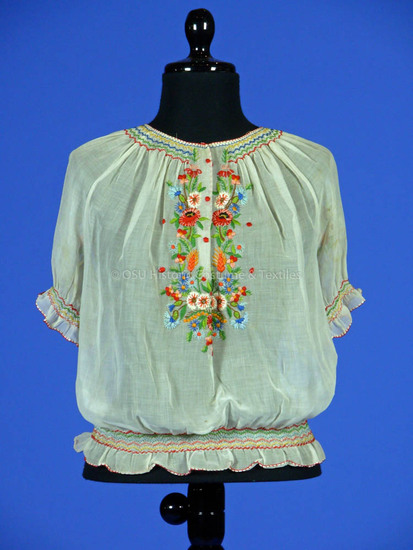 Hungarian Woman's Blouse