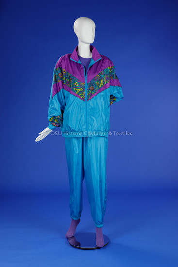 1990s Woman's Exercise Suit