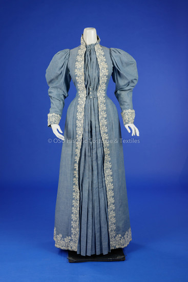 1890s At-Home Gown