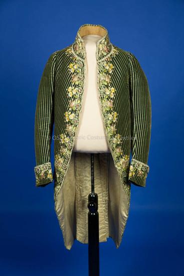 1780-1789. Man's Cutaway Coat
