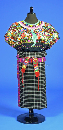 Guatemalan Woman's Ensemble
