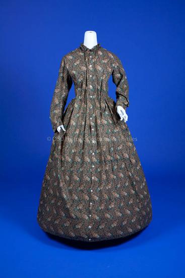 1860s, Maternity Dress