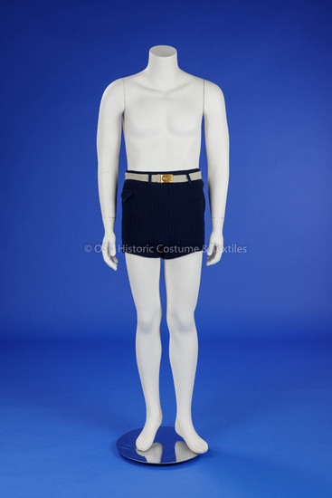 1930s Man's Wool Bathing Suit
