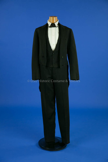 1860 Man's Formal Tail Suit