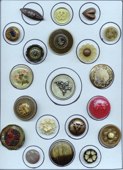 buttons, celluloid