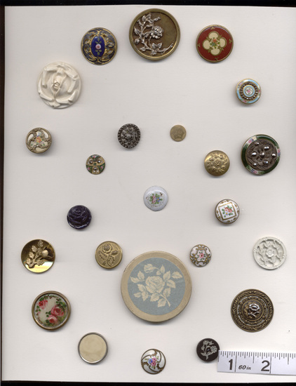 Buttons, Roses