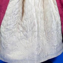 1988.318.130 & 1987.318.10 - Pink Silk Dress & Ivory Silk Quilted Petticoat 1770-1780 - Detail Petticoat A.jpg