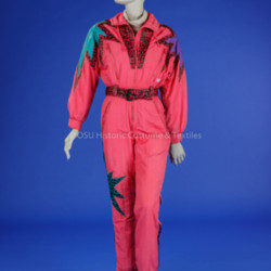 1980 Woman's Ski Suit