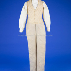 1830 Man's Vest and Trousers