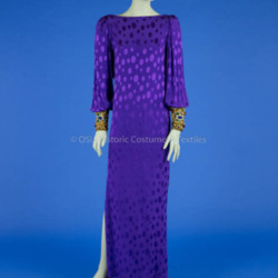 De la Renta, Purple Evening Gown
