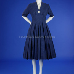 1950s Navy Day Dress