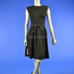 1961 Dior Black Dress