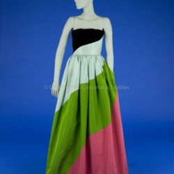 Bill Blass, Multi-Colored Evening Gown
