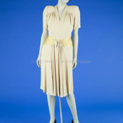 1941 Acetate Wedding Dress