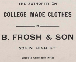 B. Frosh & Sons Suit
