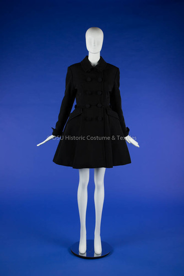 1997 Dior Black Coatdress