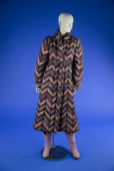 1980's Full-Length Down Coat