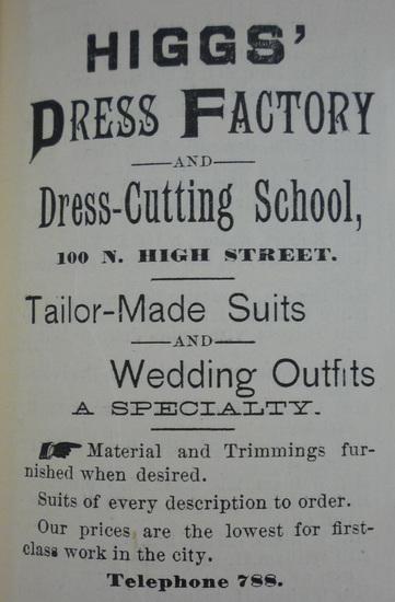 Higg's Dress Factory