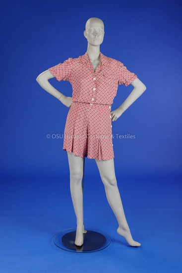 1940s Pink Romper