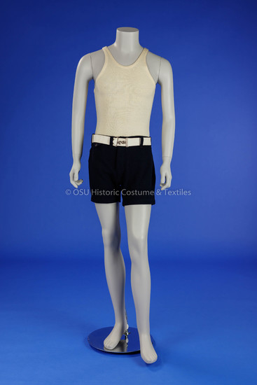 Man's Two-Piece Bathing Suit