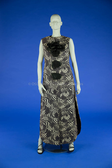 Geoffrey Beene Mattelasse Dress