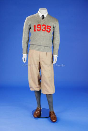 Man's College Sweater & Wool Knickers