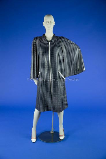 Pauline Trigère Vinyl Raincoat
