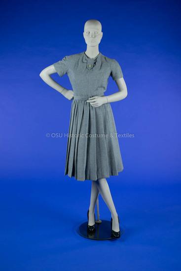 Dior Light Blue Plaid Ensemble