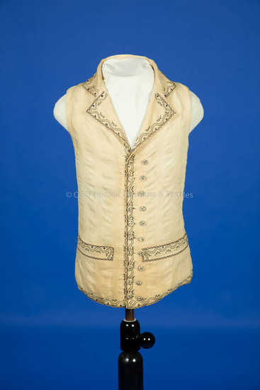 1790-1810, Man's Cotton Vest