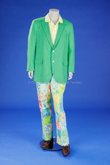 Man's Blazer and Lilly Pulitzer Pants