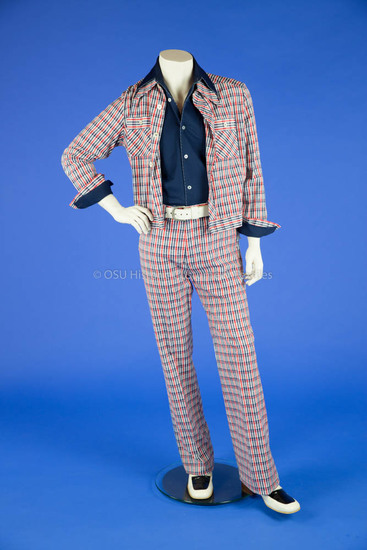 1970's Red/White/Blue Suit