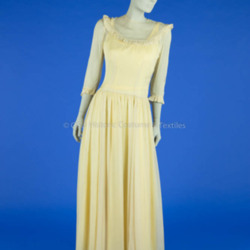 1945 Rayon Bridesmaid Dress