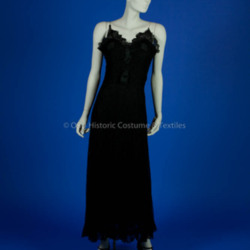 Chanel, Coco; 1936 Black Lace Dress