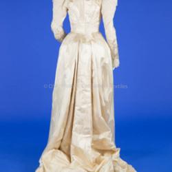 1891 Silk Wedding Dress