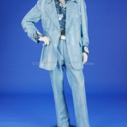 Man's Light Blue Suit