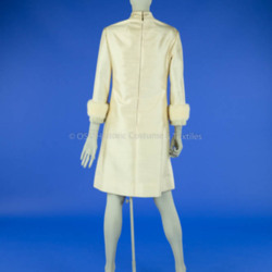 1960s Silk Wedding Dress and Reception Dress
