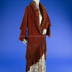 1930's Brown Velvet Coat