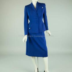1930's Blue Wool Suit
