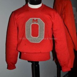 1935 Ohio State Letter Sweater