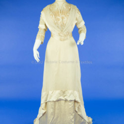 1910 Silk Wedding Dress