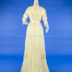1910 Silk Wedding Dress
