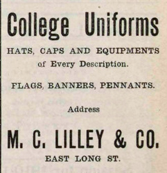 M.C. Lilley and Co. Founders, Factories, and Advertisements