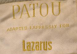 F & R Lazarus Label
